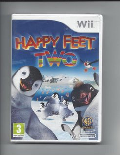 HAPPY FEET TWO NEW IN SEAL für Nintendo Wii