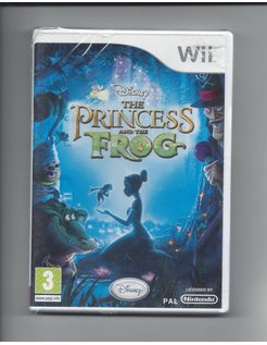 THE PRINCESS AND THE FROG NEW IN SEAL für Nintendo Wii