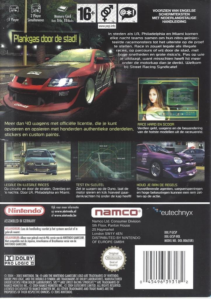 List street car racing syndicate Ranking The