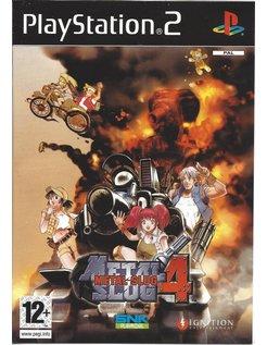 METAL SLUG 4 für Playstation 2 PS2