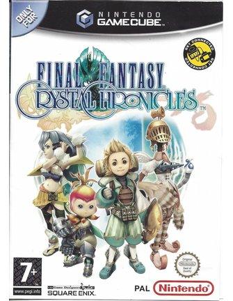 FINAL FANTASY CRYSTAL CHRONICLES voor Nintendo Gamecube