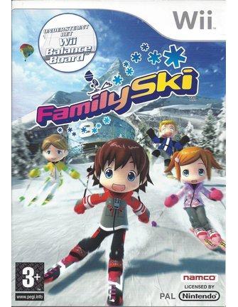 FAMILY SKI voor Nintendo Wii
