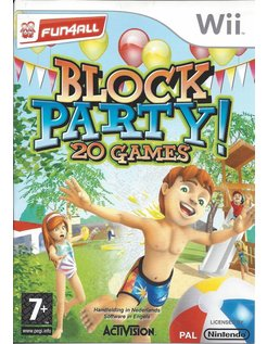 BLOCK PARTY 20 GAMES voor Nintendo Wii