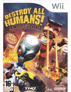 DESTROY ALL HUMANS BIG WILLY UNLEASHED for Nintendo Wii