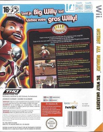 DESTROY ALL HUMANS BIG WILLY UNLEASHED für Nintendo Wii