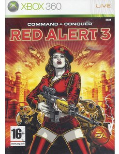 COMMAND & CONQUER RED ALERT 3 voor Xbox 360