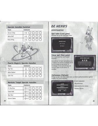 DISNEY'S DONALD DUCK QUACK ATTACK voor Nintendo Gamecube