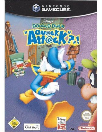 DISNEY'S DONALD DUCK QUACK ATTACK für Nintendo Gamecube