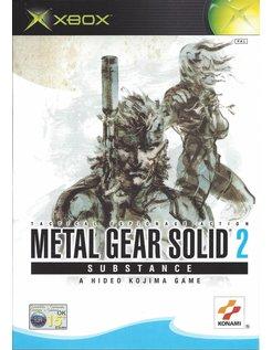METAL GEAR SOLID 2 SUBSTANCE voor Xbox