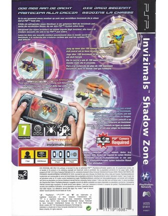 INVIZIMALS SHADOW ZONE für PSP