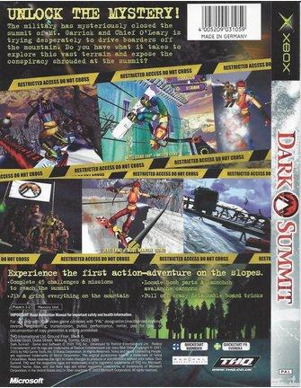 DARK SUMMIT voor Xbox