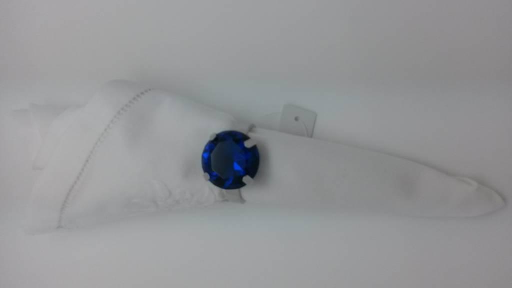 Serviettenring, blau, 1 Stück