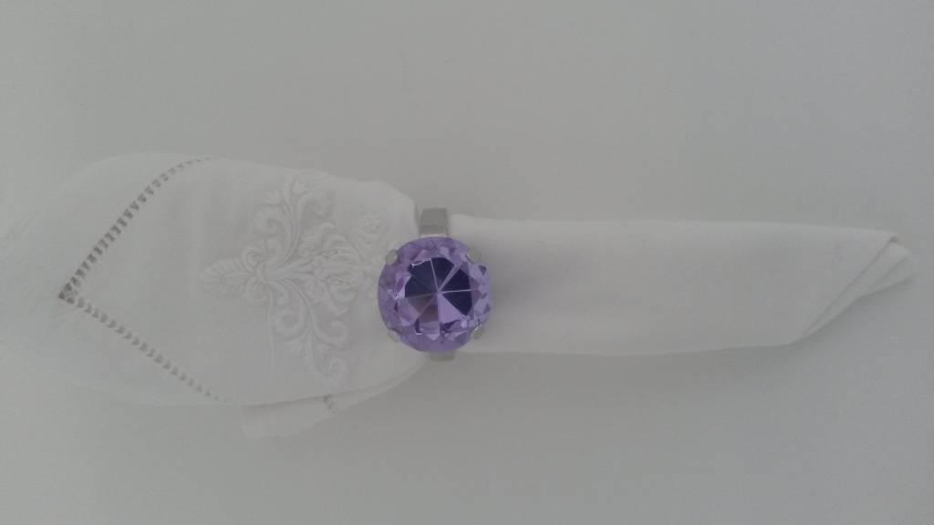 Serviettenring, violett, 1 Stück