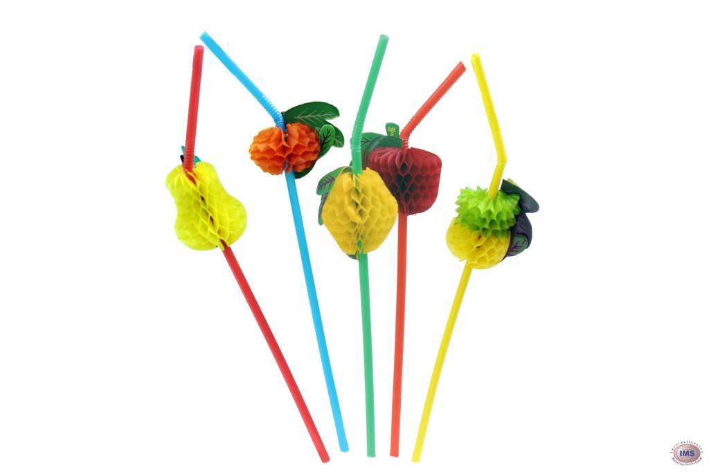 Früchte-Trinkhalm