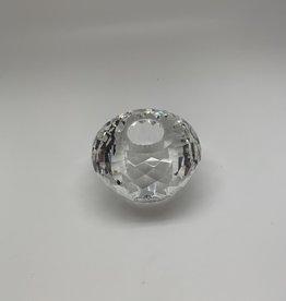 Kerzenhalter aus Kristallglas