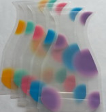 Faltbare Vase aus Kunststoff