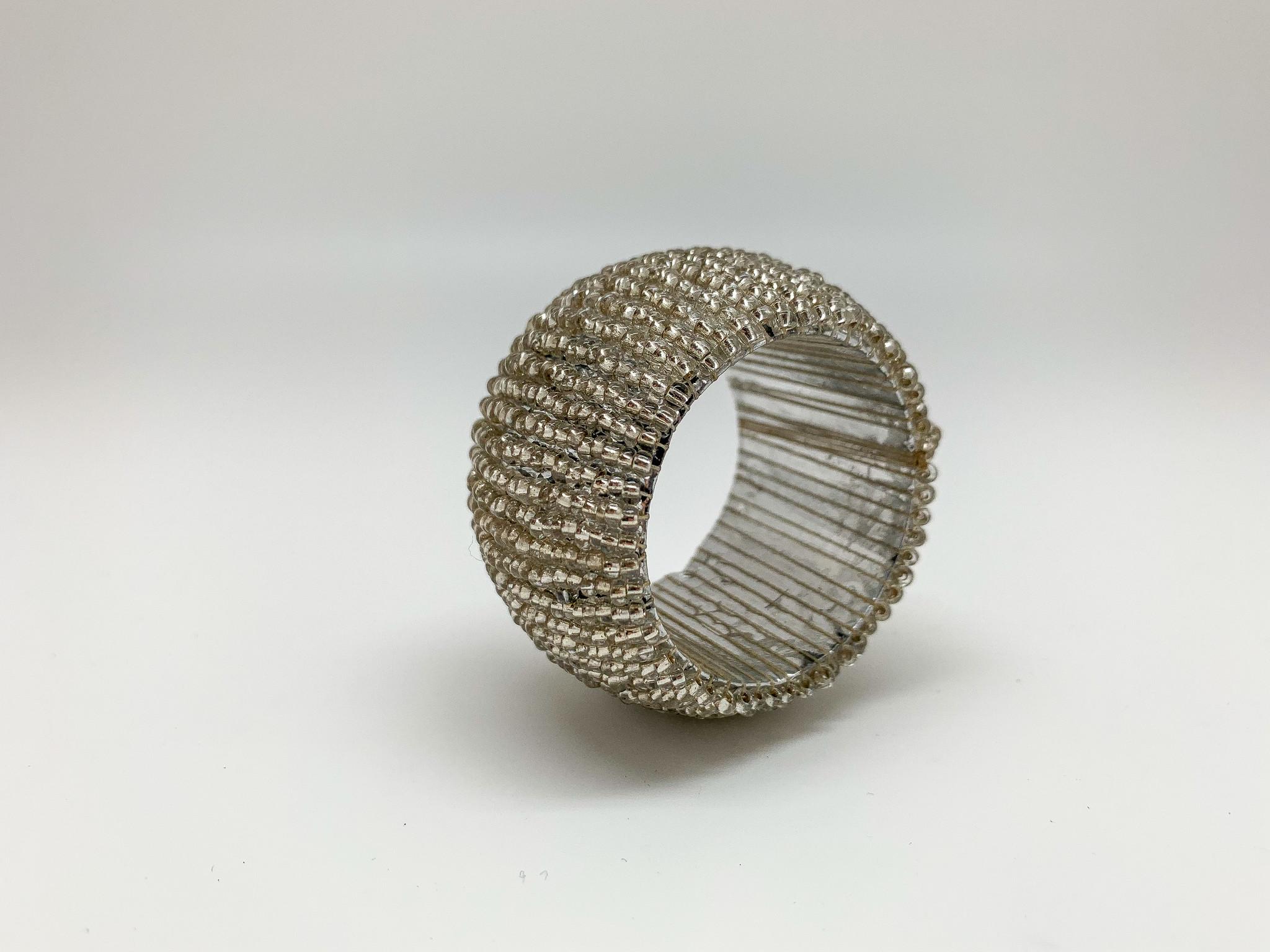 Perlen Serviettenringe gem. 4er