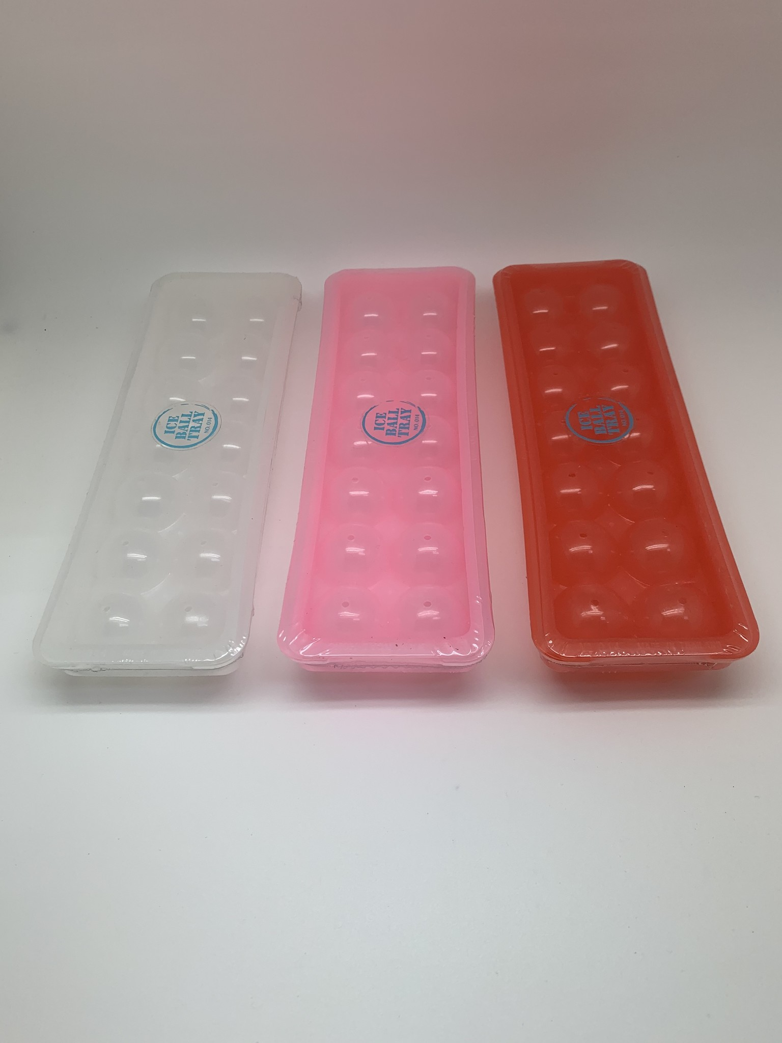 Eiswürfelform Hartplastik, Kugelform