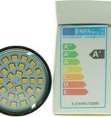 LED-Strahler GU10, 4.5 Watt, warmweiß, 420 Lumen