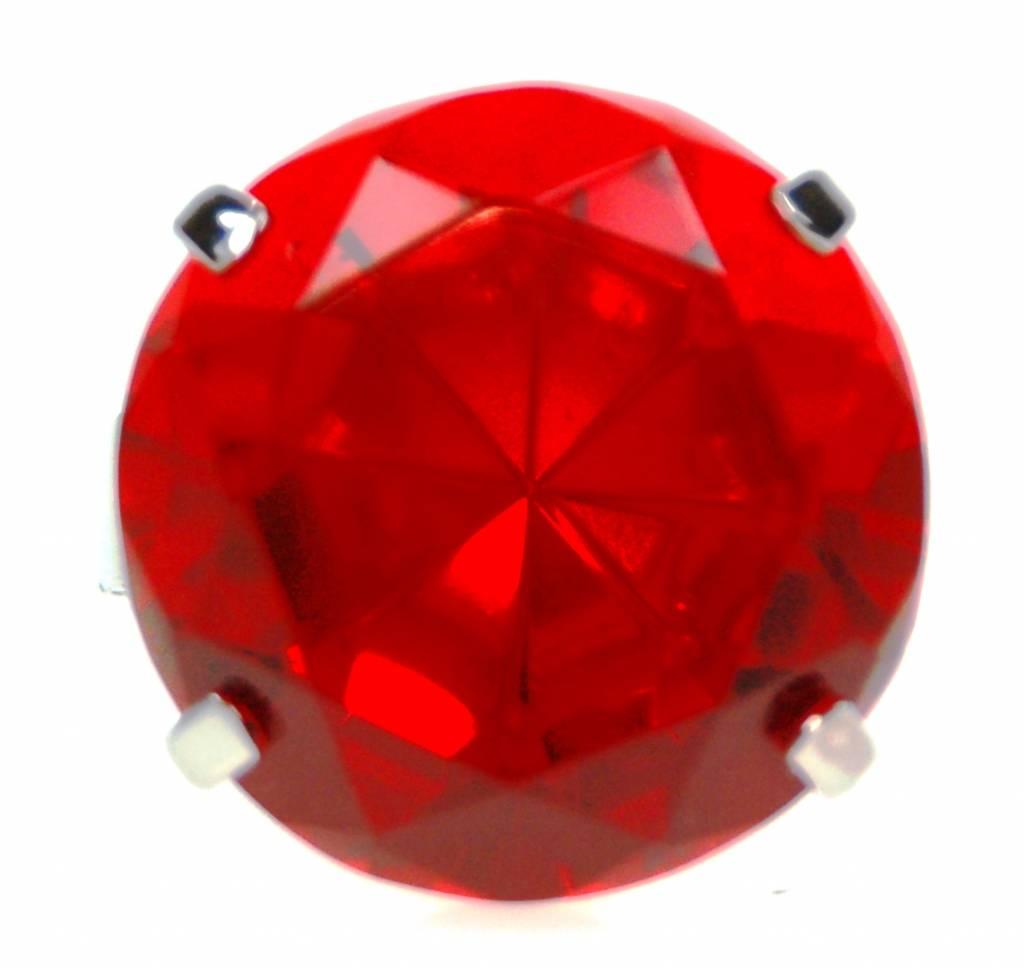 Serviettenring, rot, 1 Stück