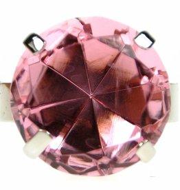 Serviettenring, 4er-Set, pink