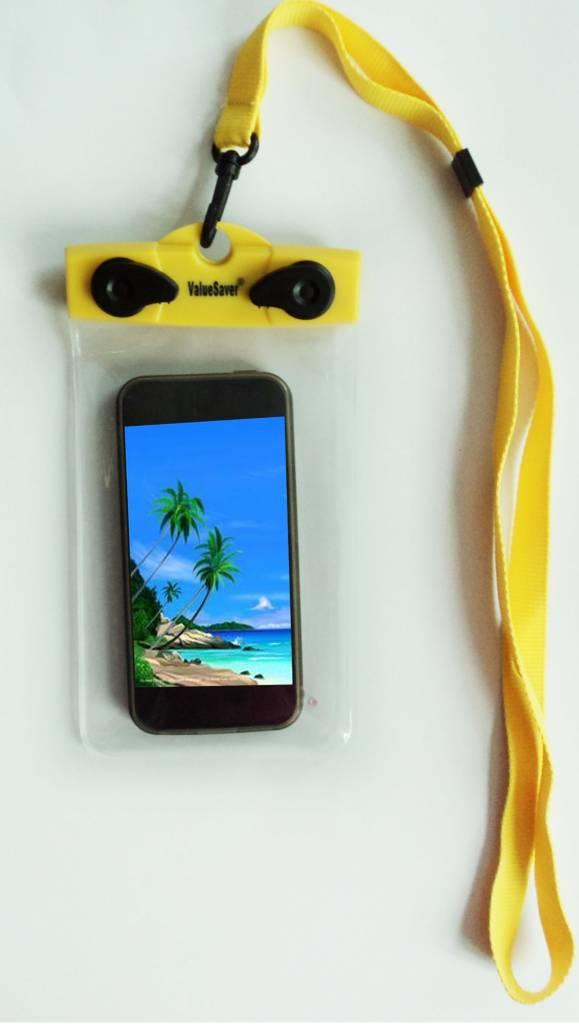 ValueSaver© wasserdichte Handy- und Kameratasche mit Träger