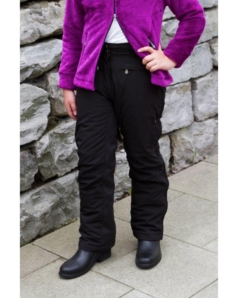 Alaska Thermo-Überzugshose f. Kinder 140/146 schwarz