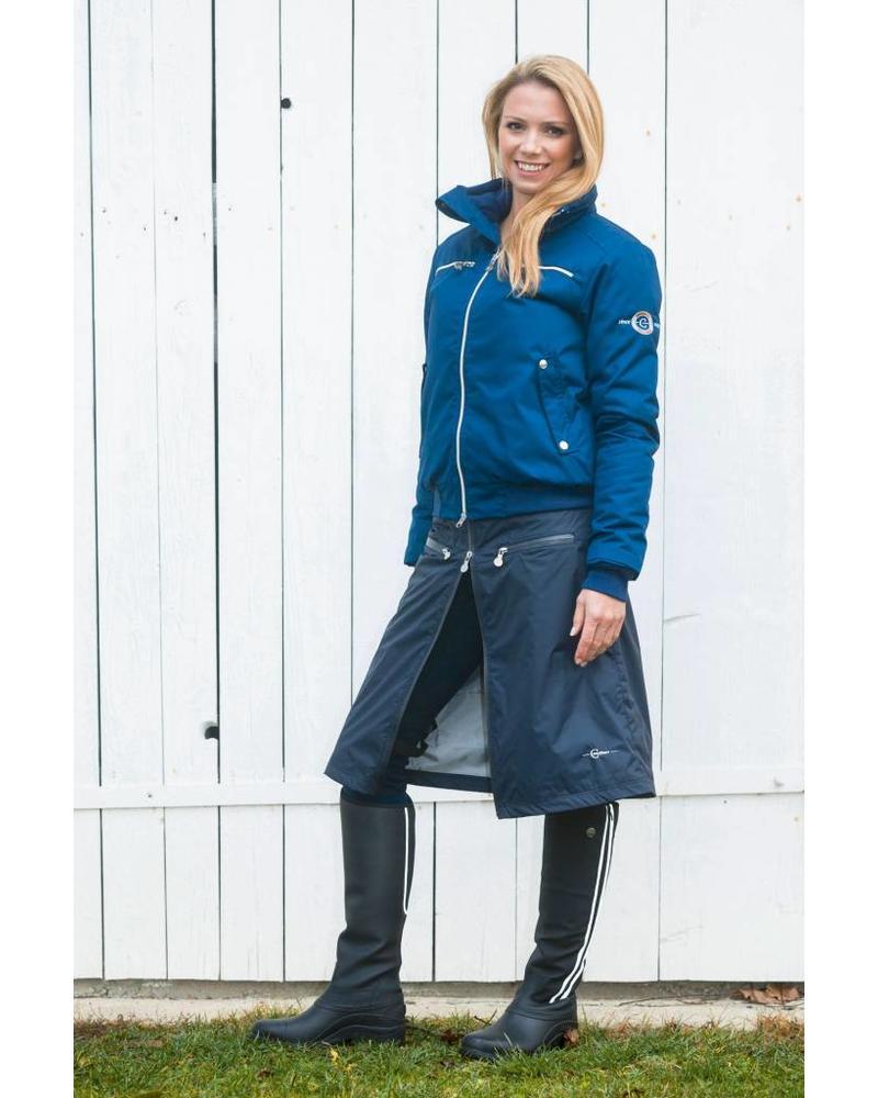 Covalliero Reit-und Regenrock Karin, navyblue, Gr. S