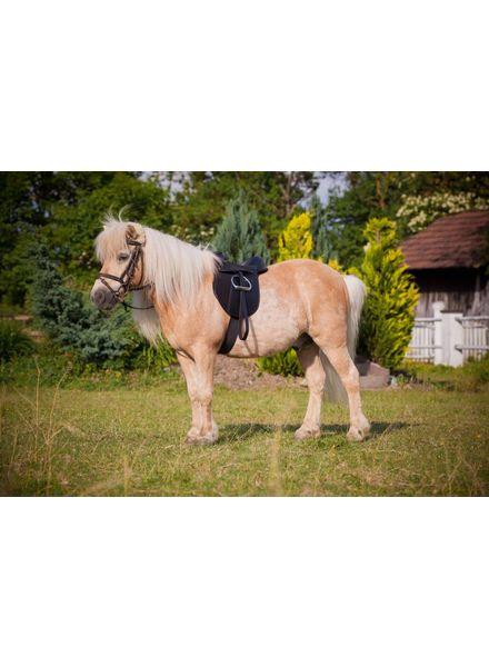 Sattelset Economy Pony schwarz