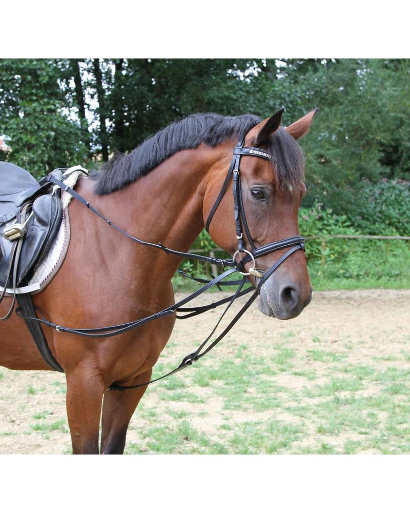 Dreieckszügel, schwarz Größe Pony