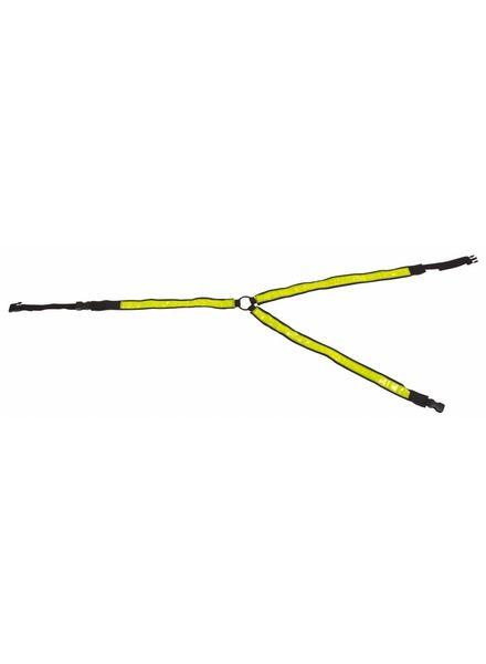 Reflex Brustgurt, gelb-reflek.