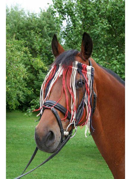 Fliegen Fransenband Pony