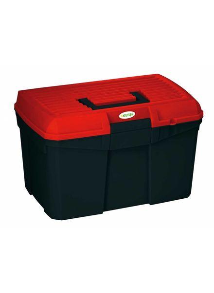 Putzbox Siena schwarz/rot