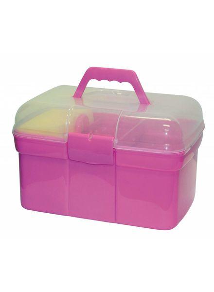 Putzbox befüllt f.Kinder, rosa