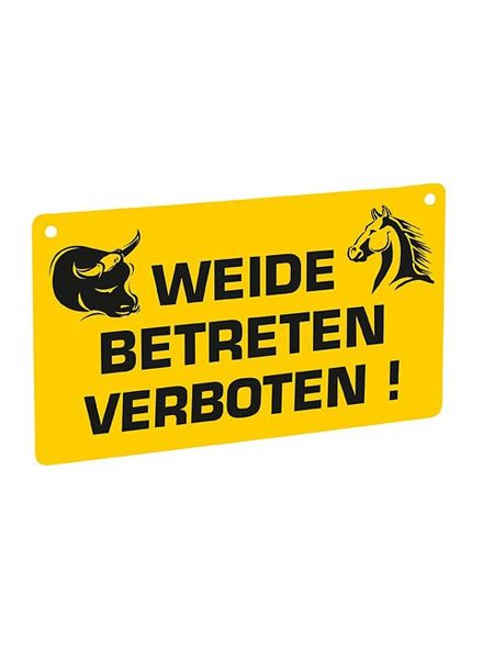 Euroguard Warnschild - Weide betreten verboten!