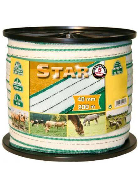Euroguard STAR Weidezaunbänder 200m, 40mm