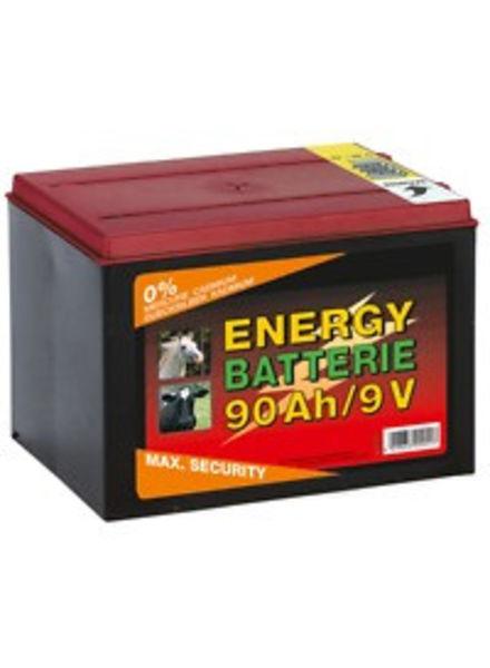 Euroguard Trockenbatterie Zink-Kohle 9 Volt 90 AH