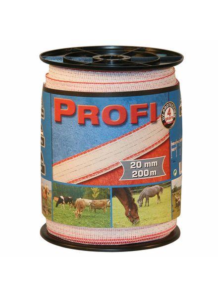 Euroguard PROFI Weidezaunbänder 20mm, 6x0,30 TriC, 200m, w/r