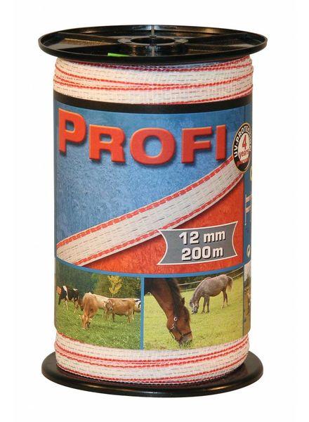 Euroguard PROFI Weidezaunbänder 12mm, 4x0,30 TriC, 200m, w/r