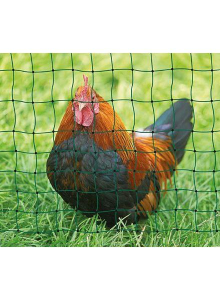 Geflügelnetz PoultryNet grün alle Längen Doppel oder Einzelspitze
