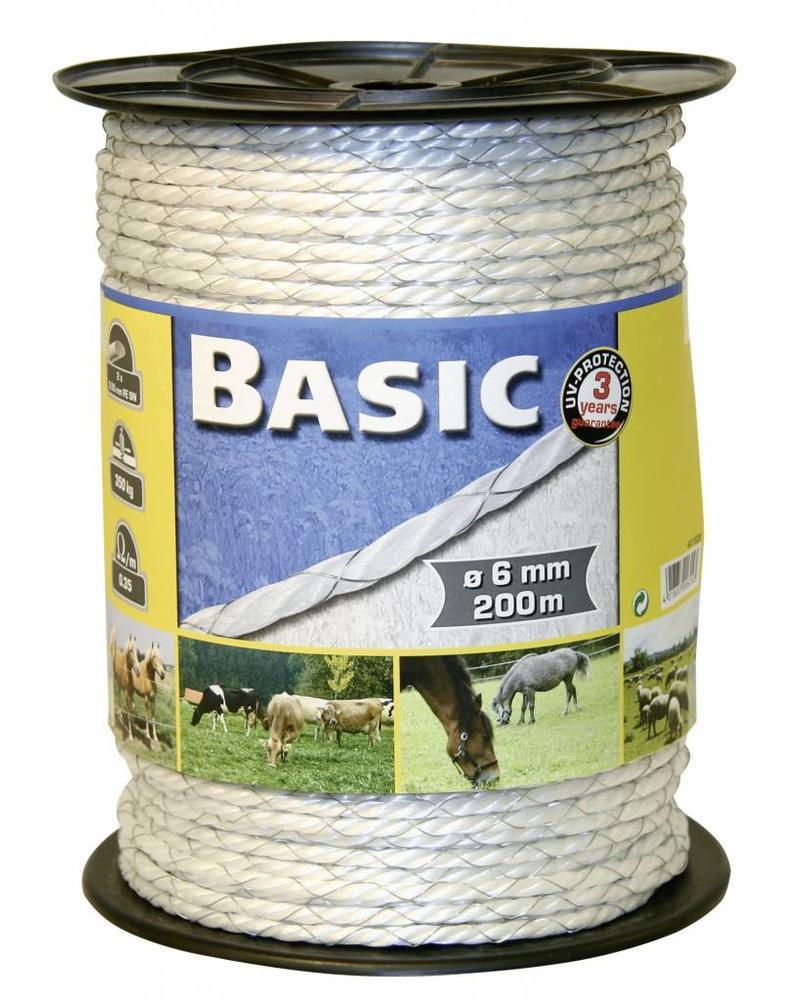 Euroguard Basic Classe,E-Seil, weiß, 6mm