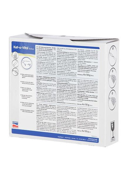 Ket-o-Vital® Bolus 135 g 4 Stk Packung