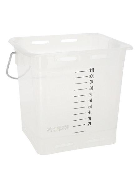 Tränkeeimer transparent 13 Liter