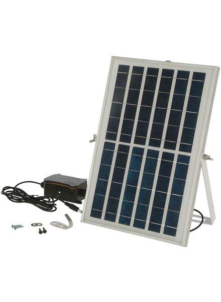 Solar-Akku-Set für automatische Hühnertür