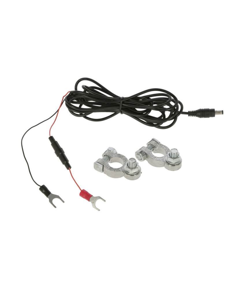 Anschlusskabel für Auto-/ Weidezaunbatterie