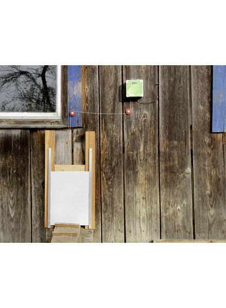 Automatische Hühnertür Komplet-Set, inkl. Schiebetür 430 x 400 mm