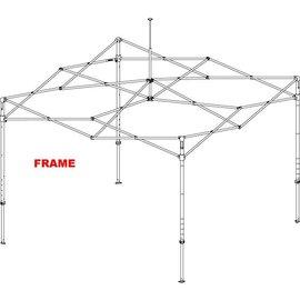 Alu frame square 40mm - 3x3M