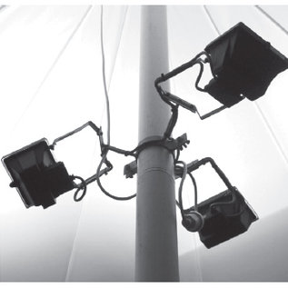 Tent Startent - Lights 3X400W + Clamp On Pole