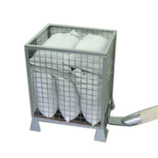 Metal Bin For Weights   Up to 300KG