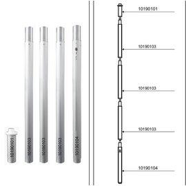 Pole heavy duty (100mm diam) - ST40
